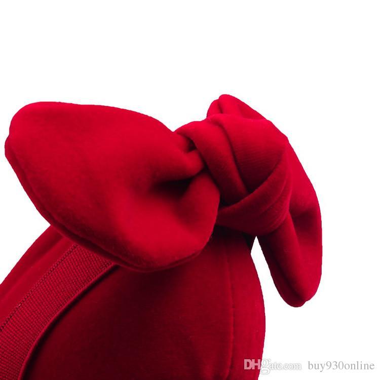 Yeni Ürünler 2016 Kadınlar Seksi Yüksek Topuklar Zarif Süet Papyon Abiye Ayakkabı 32-42 Artı Boyutu Gece Kulübü Parti Düğün Ayakkabı Kadın Pompaları