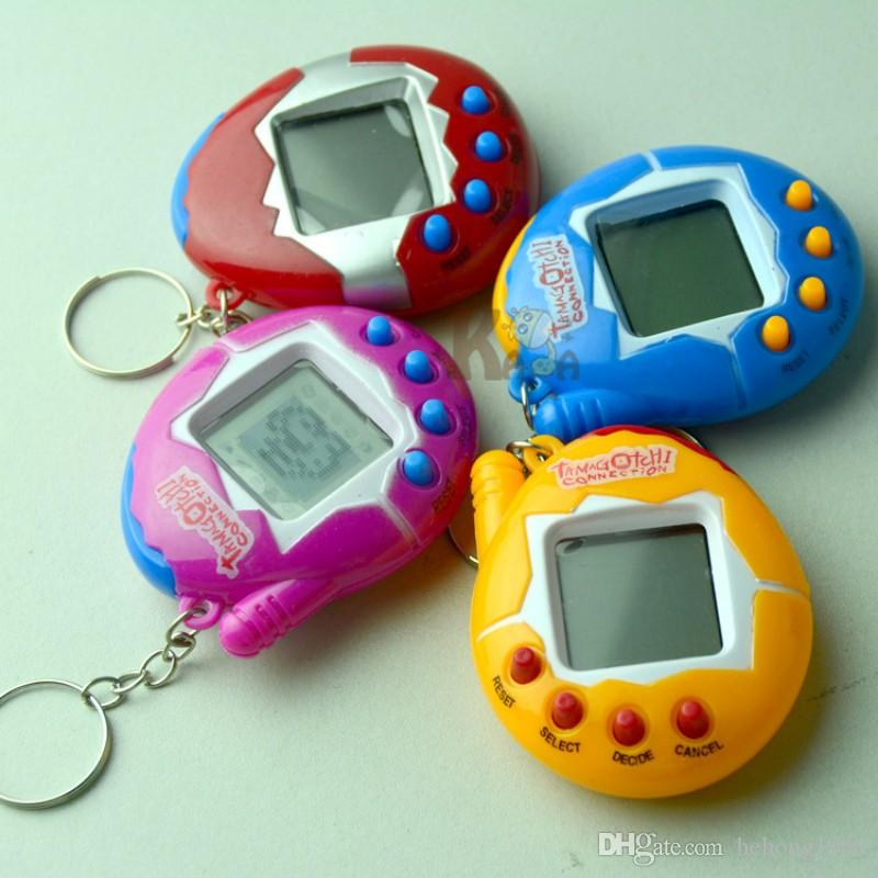 Virtual Pet Machine Electronic Miniature Tamagotchi Game Consoles Lovely Easy To Carry Puzzle Toy Factory Direct Sale B R