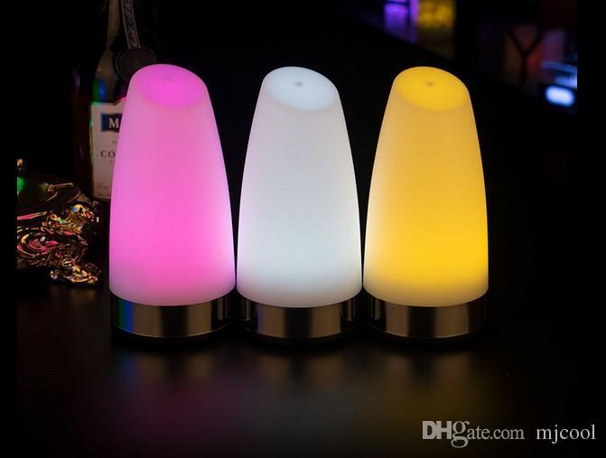 Creative led charging bar desk lamp service light mobile outdoor desk lamp charging treasure coffee shop night light