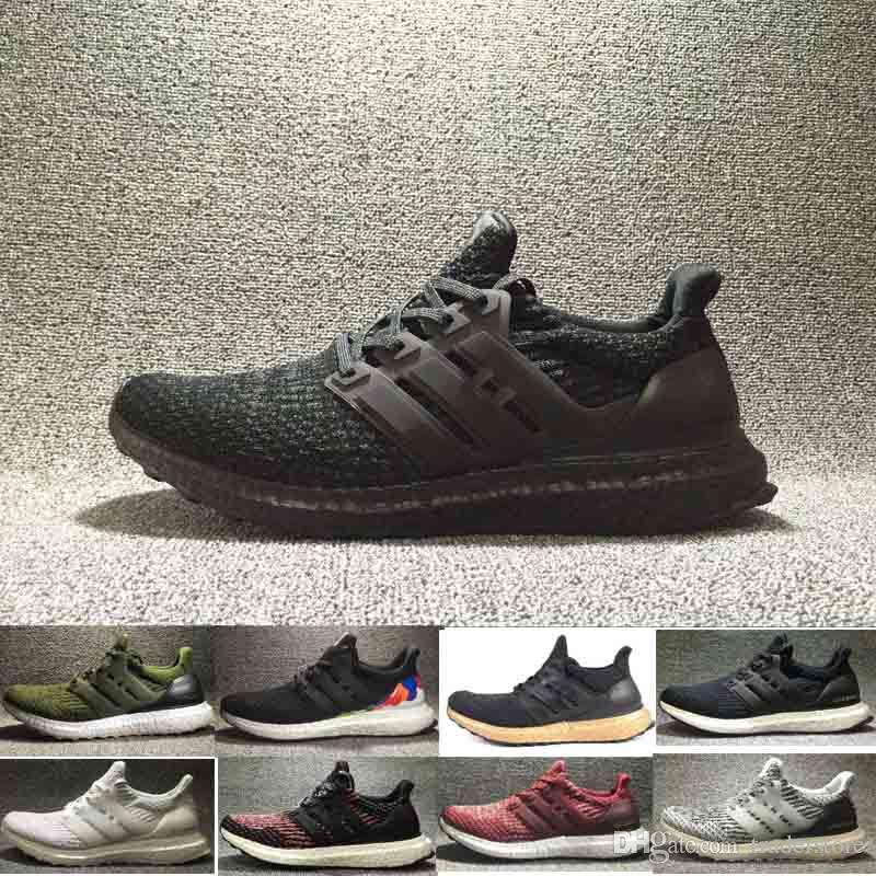 footaction buy cheap new styles 2017 Ultra Boost 3.0 Triple Black white MEN'S Running Sport Shoes High quality Summer breathable sneaker Size US5-US11 7PZgU