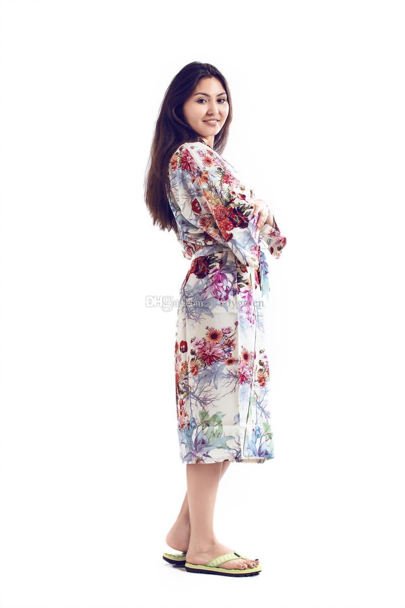 Red Kimono Wedding Gown Floral Kimono Robe Kimono Fashion Bridal ... 8e7950630