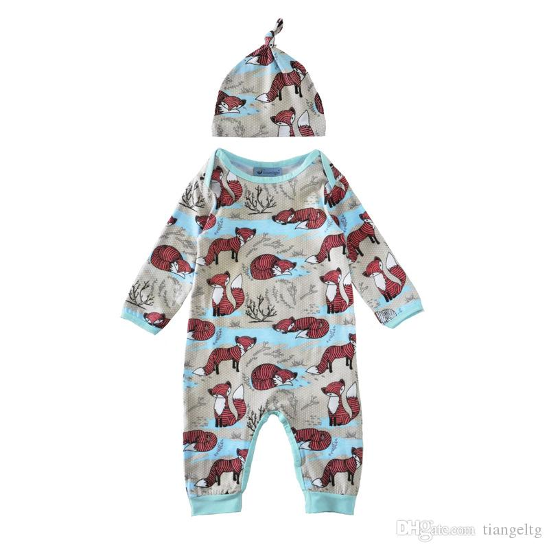 New Kids Clothing Sets Rompers Jumpsuits Winter Autumn Spring Long Sleeve Baby Casual Suits Infant Rompers 0-24M