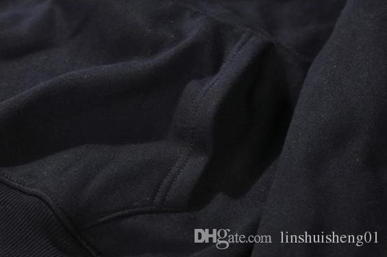 The new 2017 autumn and winter DEFEND Hooded Sweatshirts Hoodies Men Women Long Sleeve Outerwear Hip Hop Hoodie