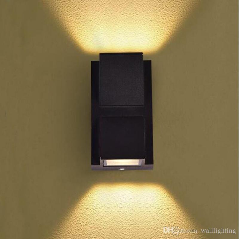 Outdoor Lamp 3w 6w Led Wall Sconce Light Fixture Waterproof Building Exterior Gate Balcony Garden Yard