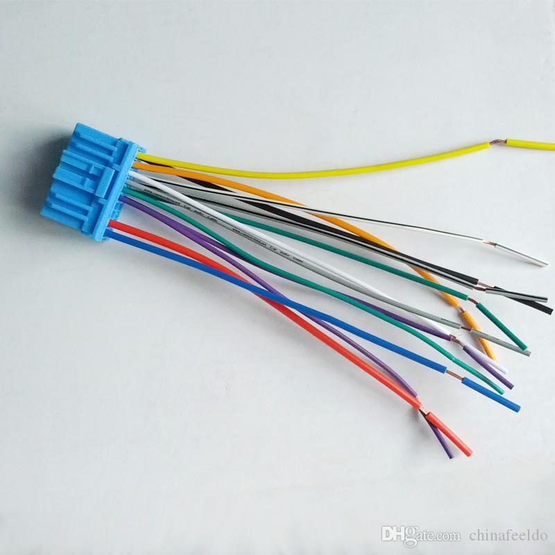 Arnés de cableado estéreo de audio para el automóvil para HONDA / ACURA / ACCORD / CIVIC / CRV enchufarlo en la radio OEM Factory CD #: 1686