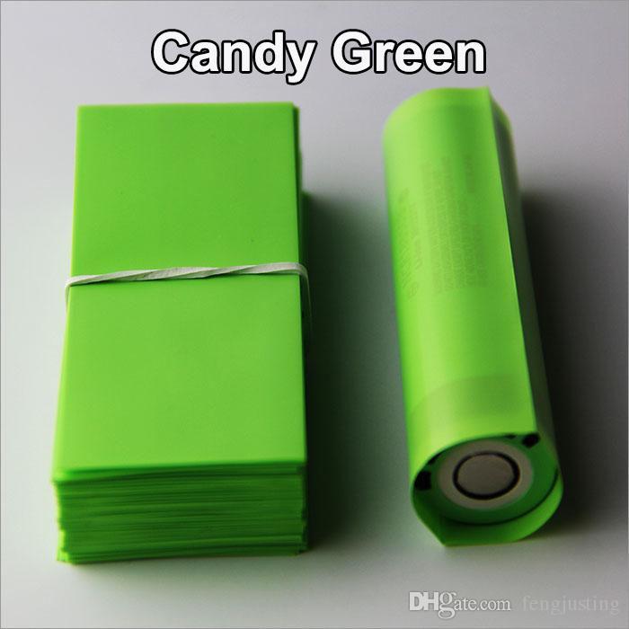 18650 Batterie shrink wrap chaleur PVC isolation Re-wrap tube pour 18650 série Li-ion batterie 72mm longueur 18650 batterie shrink joints