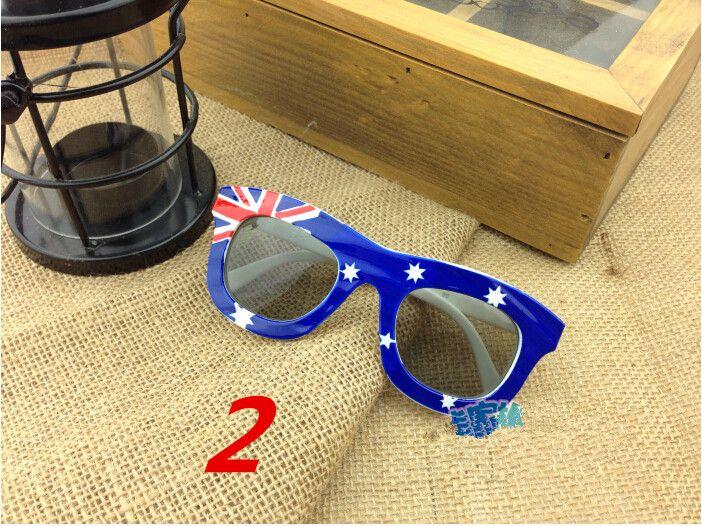 New Style Crianças EUA Bandeira Óculos De Sol América Impressão UK Crianças Óculos De Sol 24 Pçs / lote Frete Grátis