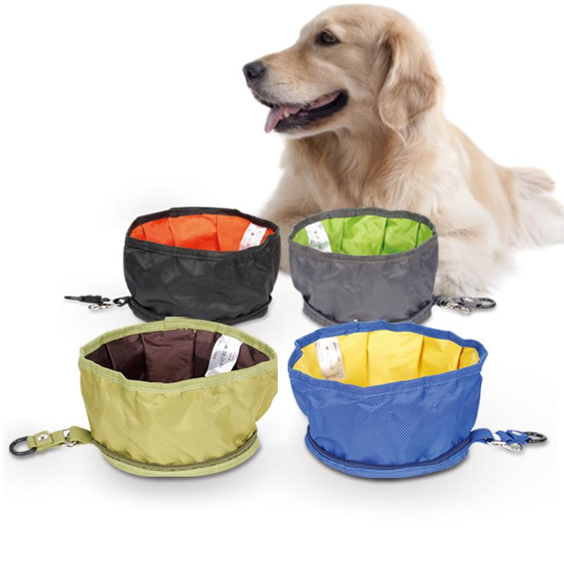 2018 Foldable Dog Water Bowl Food Storage Bag Pet Snack Tray Drink  Waterproof Oxford Fabric Travel Camping Food Feeder From Hyhoney, $10.69 |  DHgate.Com