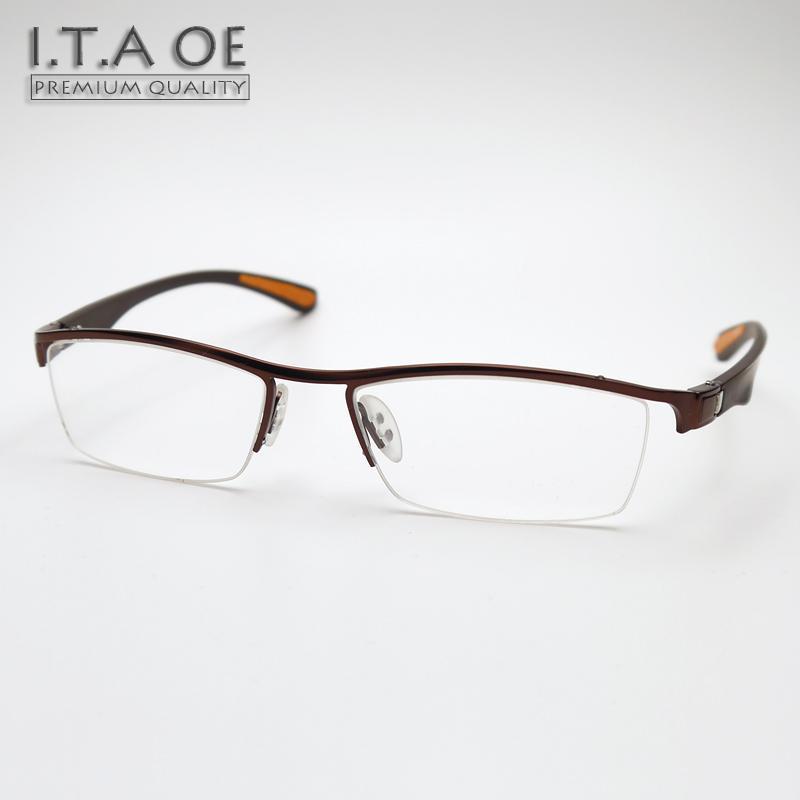 b00f8974c07 Wholesale- ITAOE 8272 Half Semi Rim New Fashion Style Alloy Tr90 Elastic Men  Women Myopia Reading Optical Eyewear Frames Glasses Spectacles Fashion ...