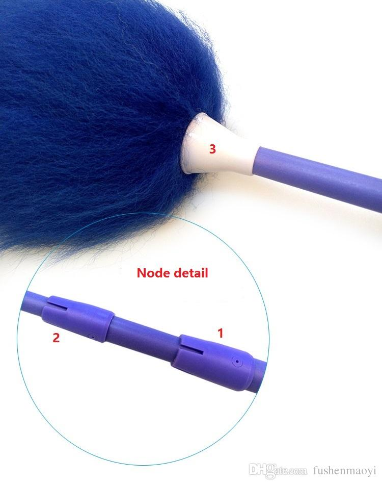 Pure Lampswool Dusters Telescopic Handle Dusters Household Cleaning Dusters Housekeeping cleaning tool feather dusters