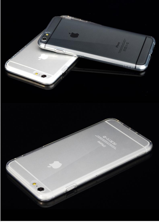 ¡Caliente! Ultra Thin 0.5mm TPU Funda Suave para iphon 7/7 plus Clear Crystal Colorful Celular Shell Cubierta 10 unids / lote Envío gratis