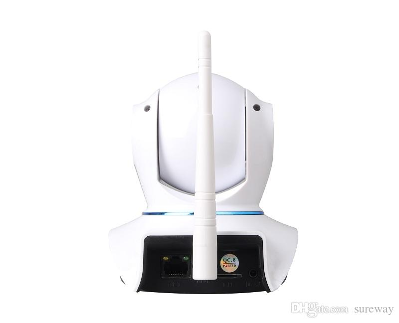 الصفحة الرئيسية الأمن كاميرا IP لاسلكية صغيرة كاميرا IP كاميرا مراقبة واي فاي 720P HD للرؤية الليلية الدوائر التلفزيونية المغلقة كاميرا مراقبة الطفل