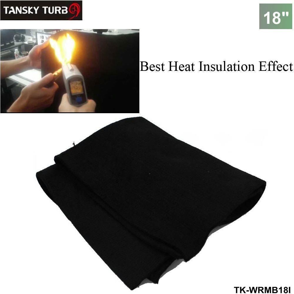 TANSKY -Auto Carbon Fiber Welding Blanket torch shield plumbing heat sink  slag fire felt 18