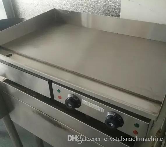 Piastra elettrica della griglia della macchina della pancake del piatto della pancake della macchina della piastra elettrica popolare popolare che fa la piastra a macchina della carne