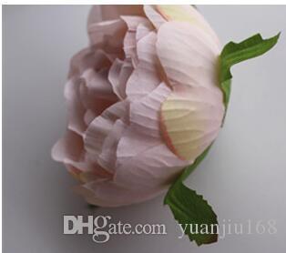 Die Pfingstrose-Tee-Rosen-Silk Hochzeits-Ballrose blüht Maßwerkwand DIY /
