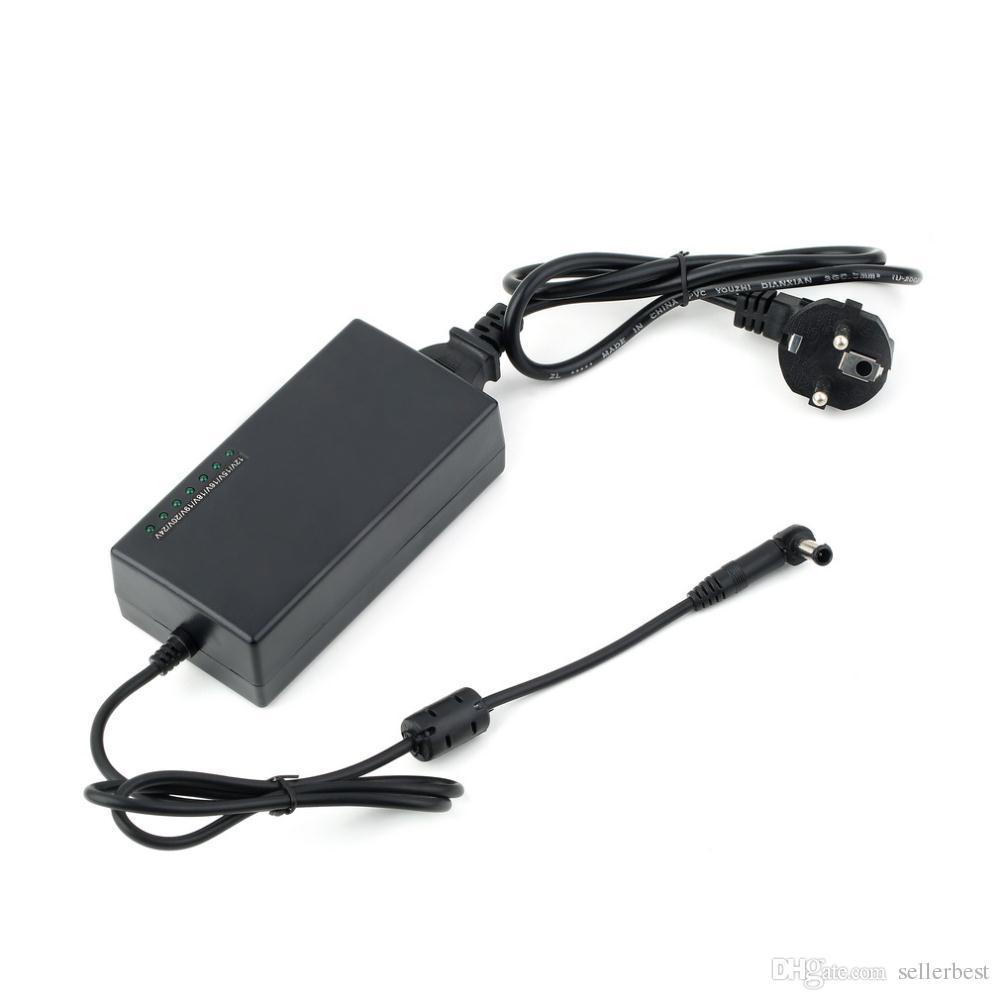 범용 노트북 충전기 노트 형 전원 어댑터 외장형 충전기 96W 조정 가능한 전압 12-24vm HP DELL 용 IBM Lenovo ThinkPad EU / US / UK / AU