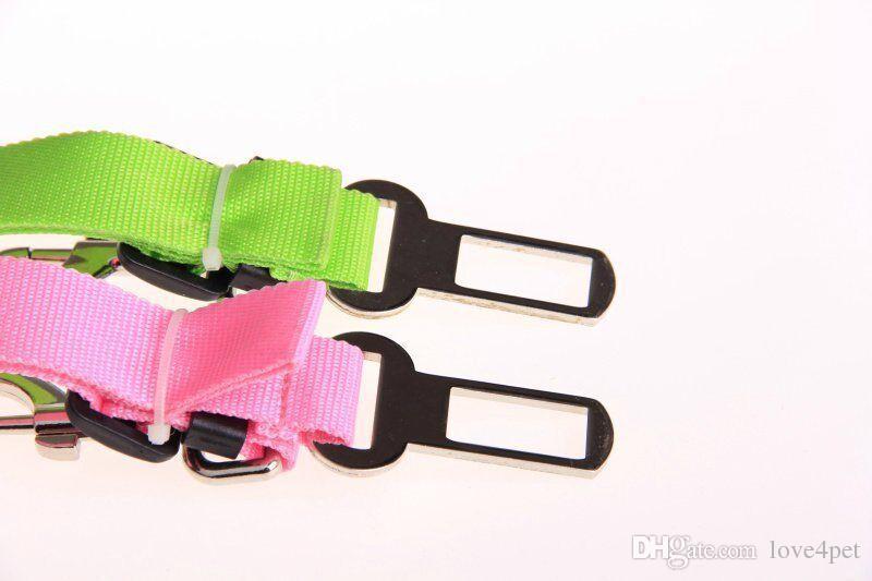 D16 dog Car seat belt pet seat belt dog Car Safety Belts adjustable dog leashes