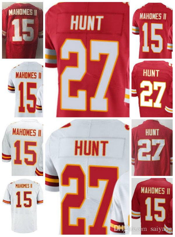 2017 mens 27 kareem hunt 15 patrick mahomes ii kansas jerseys red white vapor limited game black patrick mahomes ii nike womens game kansas city chief