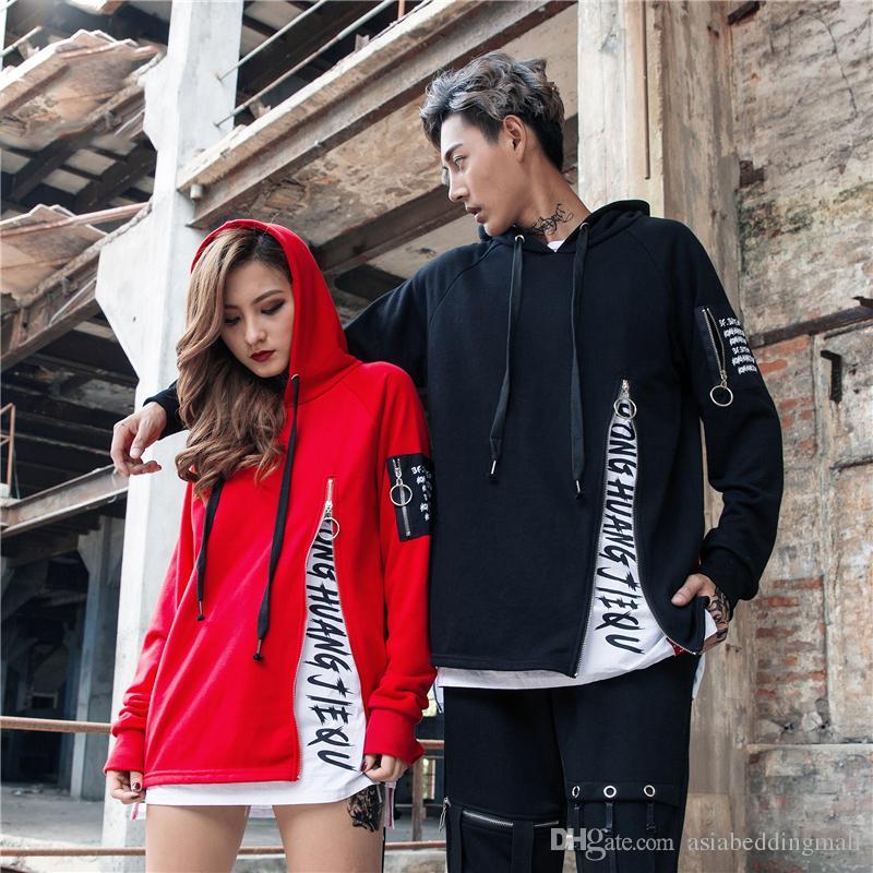 gro handel 2017 neue herbst winter herrenmode mit kapuze sweatshirts hip hop hoodies high street. Black Bedroom Furniture Sets. Home Design Ideas