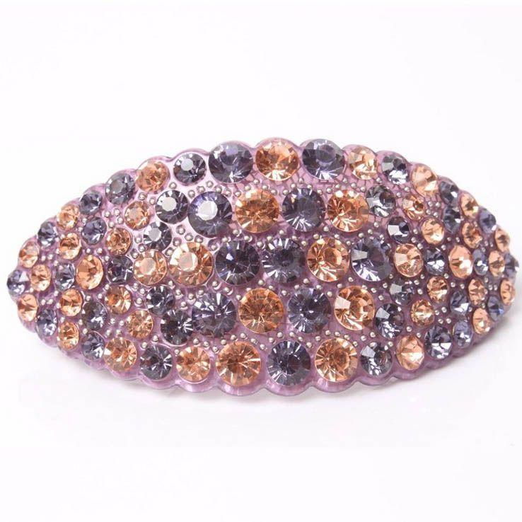Hot 2016 New High Quality Hair jewelry Acrylic Austria Rhinestone Crystal Hair Barrette for Women Clips for Hair Hairpins