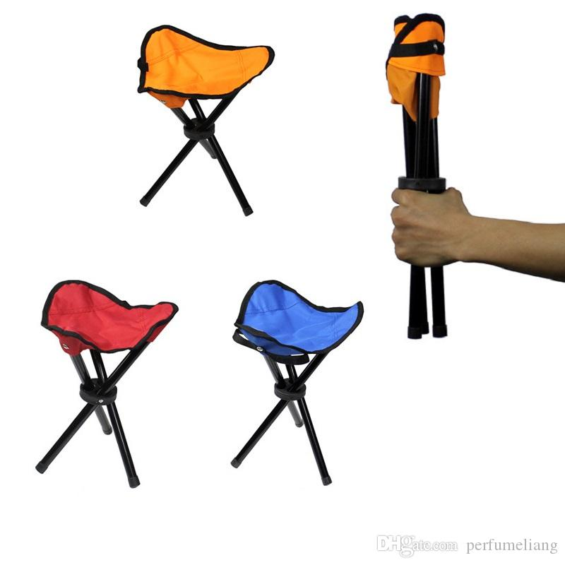Camping Folding Portable Chair Outdoor Waterproof Foldable Aluminum Alloy Tube For Fishing Beach Hiking Picnic Wholeasle ZA0863