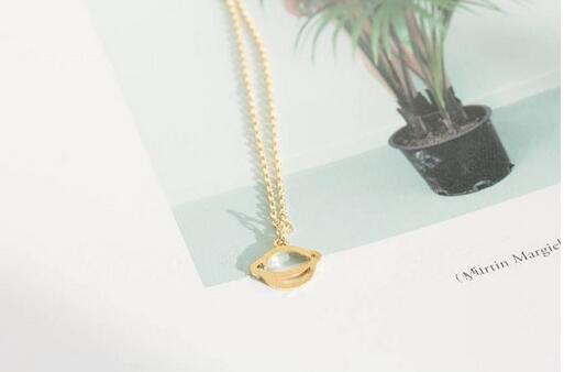 Collar de chapado en plata de moda collares tellurion para mujer collares de moda para mujer al por mayor y color mezclado envío gratis