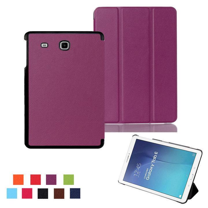 5a92bdb72 Compre Capa Para Samsung Tab E 9.6 T560 Funda Capa De Couro Funda Para Samsung  Galaxy Tab E 9.6 T560 Sm T560 Tablet Case + Filme + Stylus De Top777