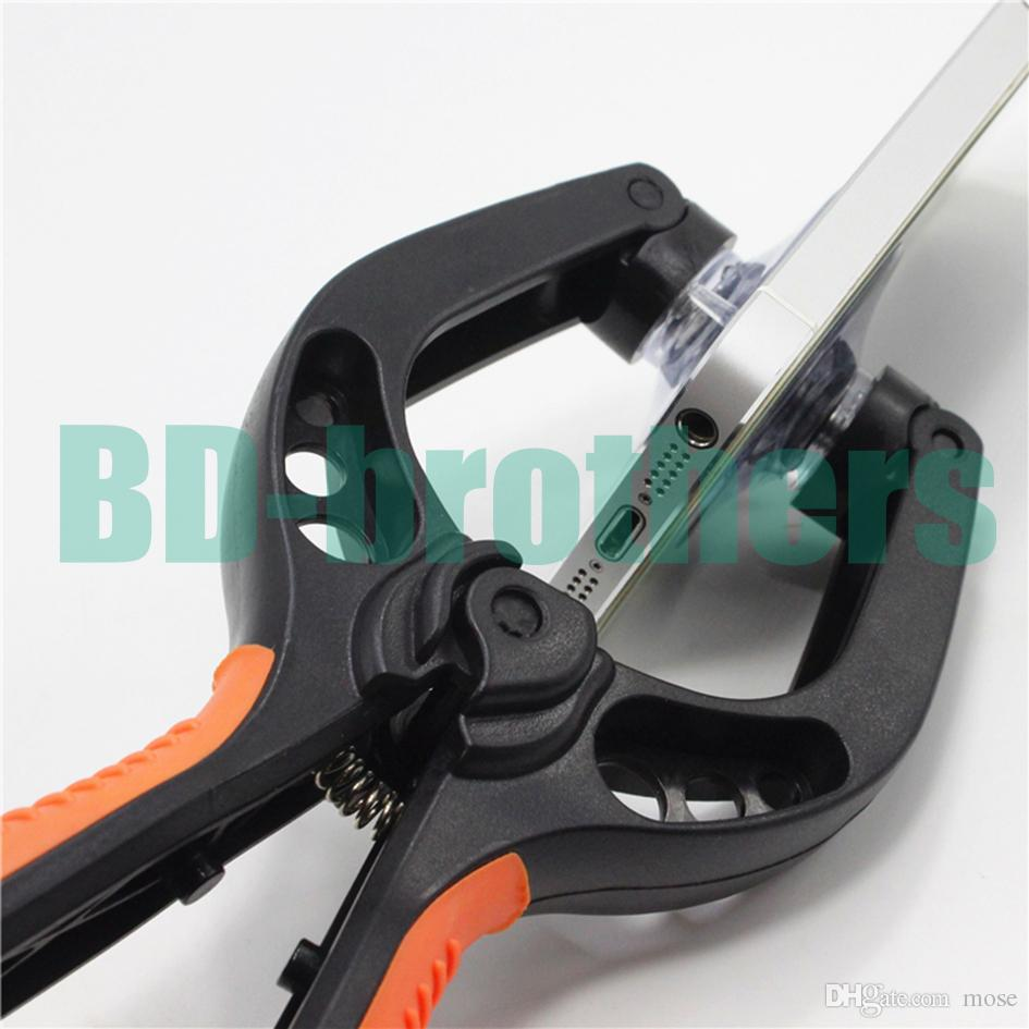 Wholesale Openner Cellphone LCD Screen Opening Tool Plier Disassembly Suction Cups Clamp Repair Tools for iPhone 4 5 5s 6 6 Plus