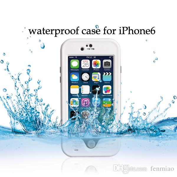 Redpepper waterproof case is suitable for iPhone6 6plus water proof case protective sleeve shell phone with fingerprint