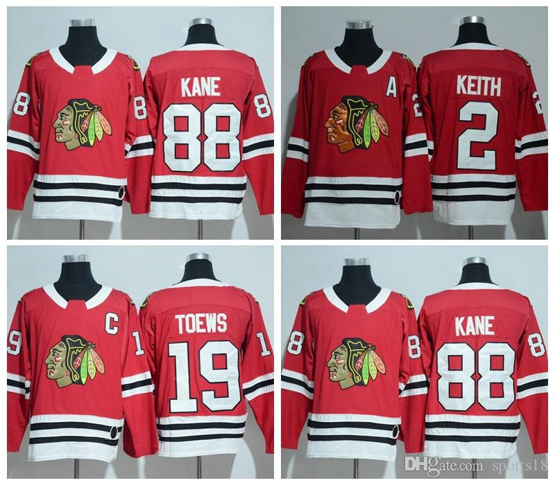 25e15715605 ... where to buy throwback team color red white green 20172018 new brand  chicago blackhawks jersey hockey