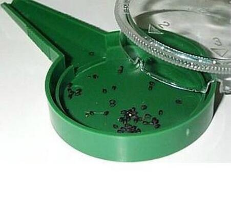 Neu kommen professionelle Sau Gartengeräte einstellbare Größe Disseminator Sämaschine Pflanzer Starter Sämaschine mit 5 verschiedenen Einstellungen