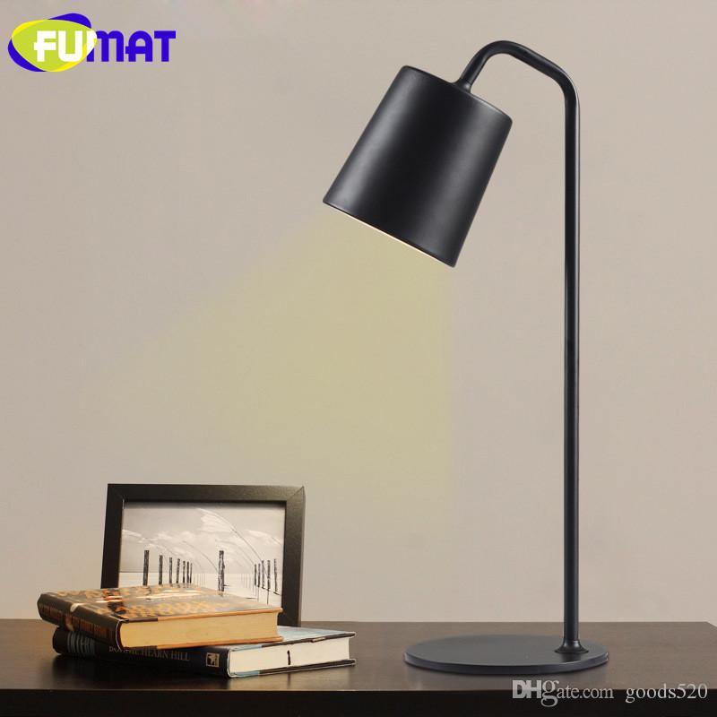 Table Bedside Metal Lamps Nordic Table Desk FUMAT Study LED Eyecare Simple Modern Bedroom Lamp Lamp Lamp rWxQCodBeE