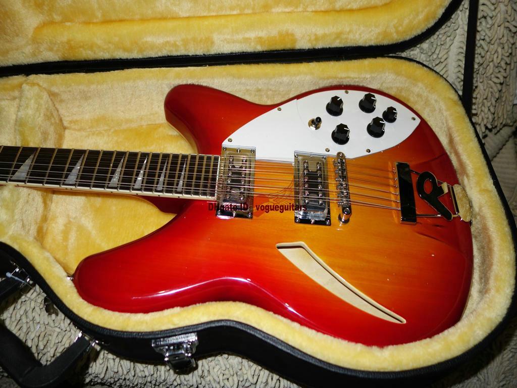 NUOVA chitarra cinese Deluxe Model 360 12 chitarra elettrica Semi Hollow nuovo arrivo OEM A99999 di alta qualità