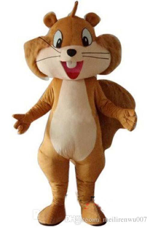 squirrel mascot costume adult costume cool halloween costumes cute halloween costumes from meilirenwu007 4350 dhgatecom