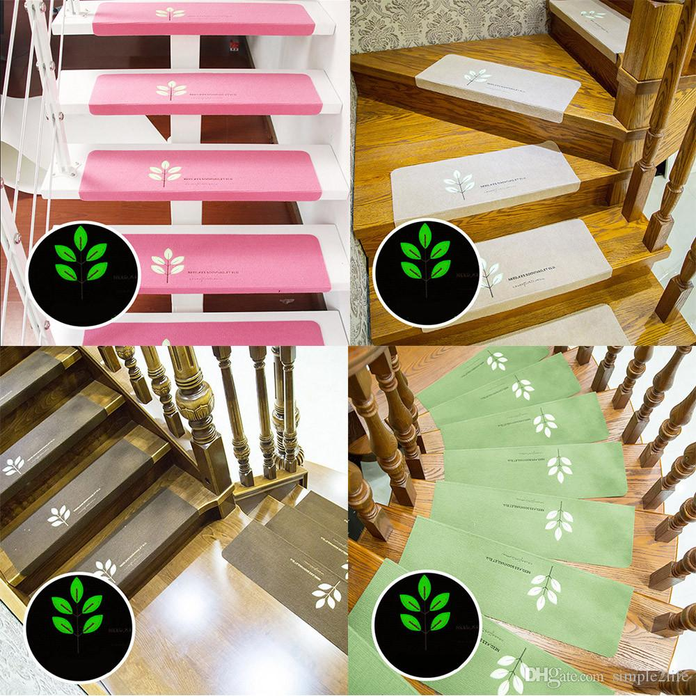 Stair Carpet Sets Slip Resistance Tread Mats Rugs For Stair Step Self  Adhesive Anti Skid Mat Luminous Fluorescent Outdoor Cushions For Wicker  Furniture ...