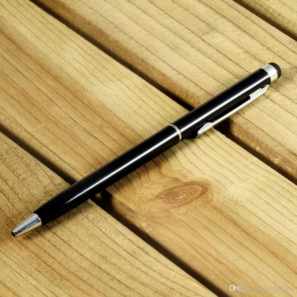 10 가지 색상의 터치 펜 스타일러스 펜촉 2 개가 터치 패드 마이크로 피버 공 펜을 터치하여 iPad 용 iPhone 안드로이드 태블릿