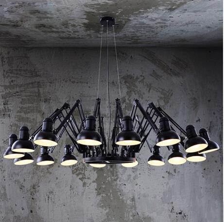 2018 spider industrial chandelier creative spider lamp chandelier see larger image aloadofball Image collections