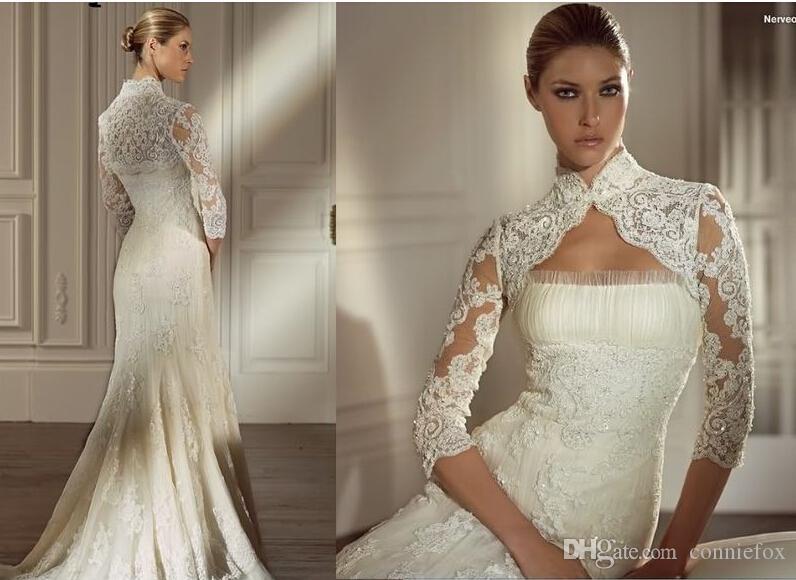 Bridal wedding shrug