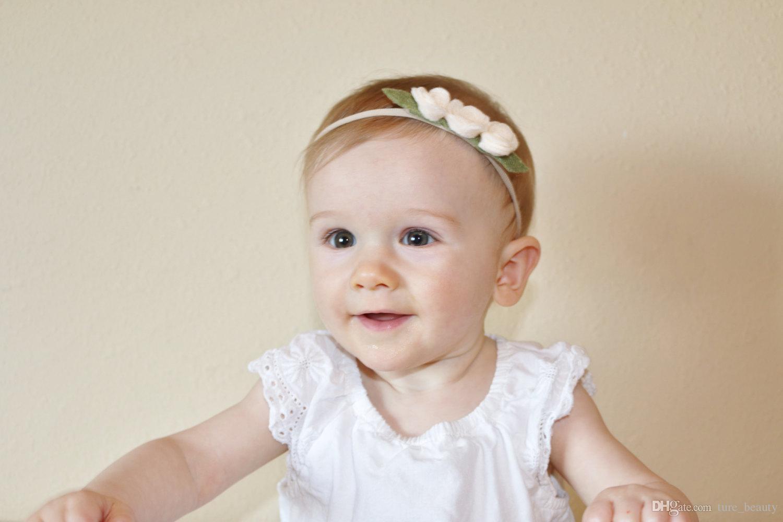 12 Farben verfügbar! Baby-Nylon-Stirnbänder, TAN-NACKTE Nylonhaarband Baby-Haarband, elastische Hauptschulterbänder, weiches dünnes Versorgungsmaterial