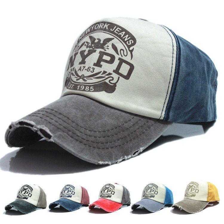 f7970910d7b9a 2019 Hot Brand Cap Baseball Cap Fitted Hat Casual Cap Gorras 5 Panel Hip  Hop Snapback Hats Wash Cap For Men Women From Lhxm