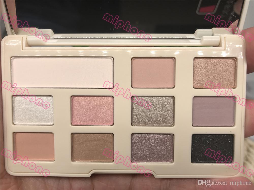 G High quality Chocolate Chip White or Matte Eye Shadow Makeup Pro eyeshadow Palette Makeup eyeshadow ePacket chocolate smell
