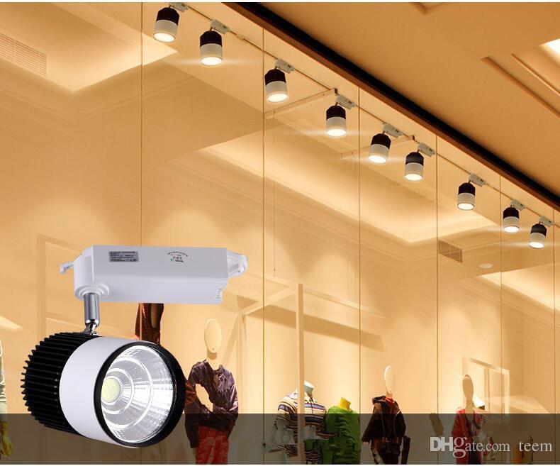 CE RoHS LED lumières En Gros Au Détail 35W COB Led Piste Lumière Murale Applique Murale, Suivi Soptlight led AC 85-265V éclairage Livraison gratuite 5050