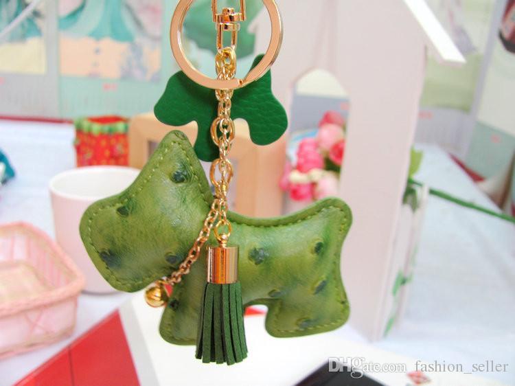 PU Couro Animal Pequeno Cães Chaveiro Saco / Telefone Decorações Brinquedos muito Presente de Aniversário