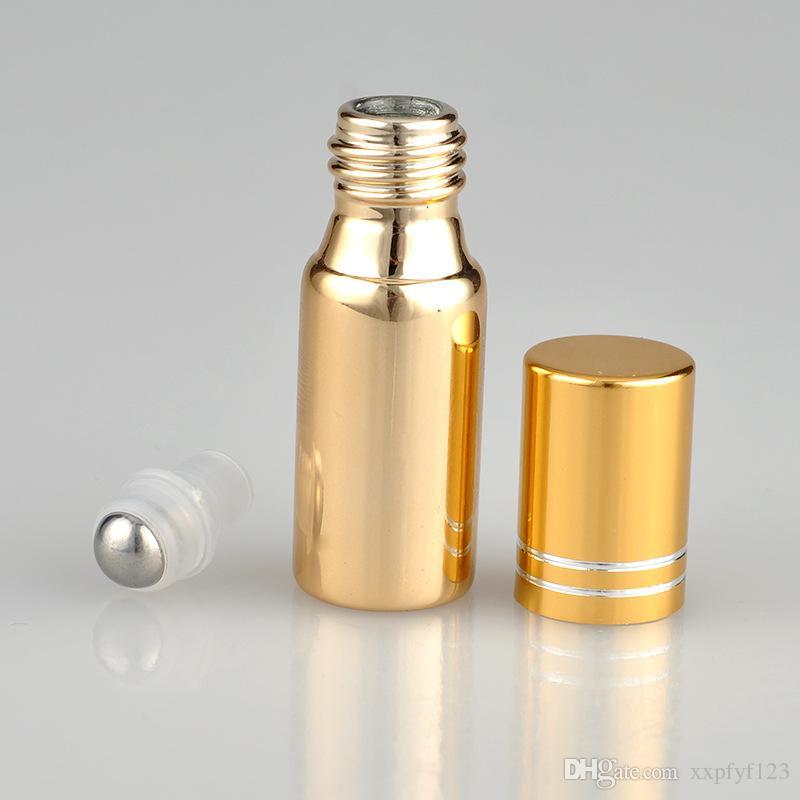 5ml 빈 UV 유리 롤 병 에센셜 오일 병 5cc 롤러 볼을 샘플 유리 병 스프레이 향수 롤 - 유리 병 b705 스프레이