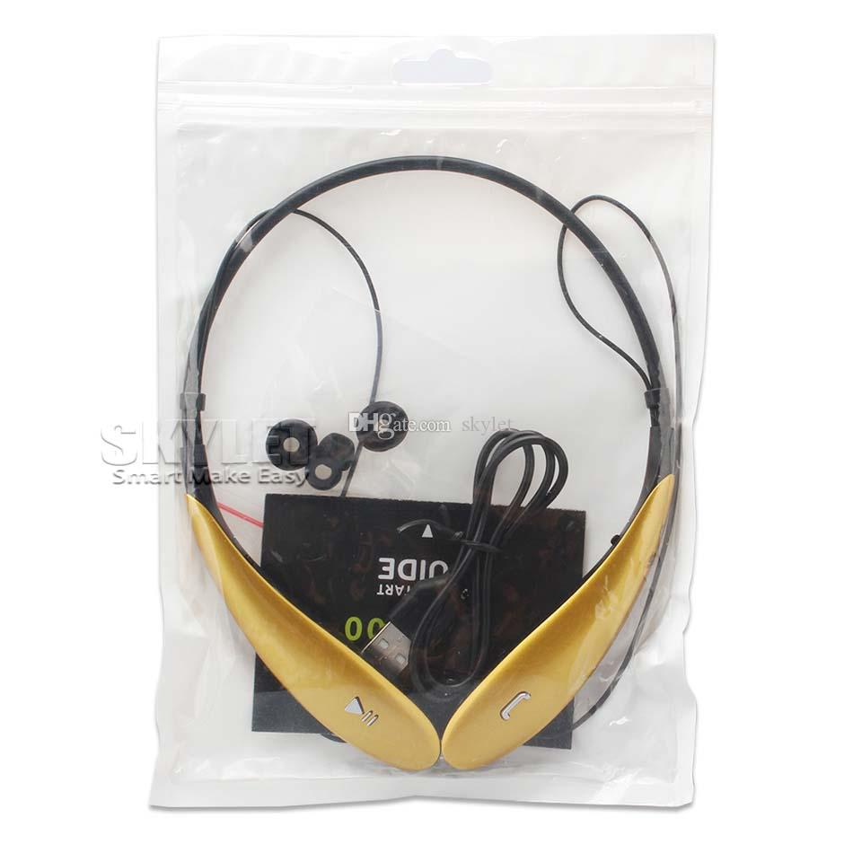 HBS800 سماعة رأس لاسلكية سماعة بلوتوث 4.0 في الأذن ستيريو سماعات الأذن الرياضة الركض سماعات لسامسونج XIAOMI LG هواوي مع صندوق