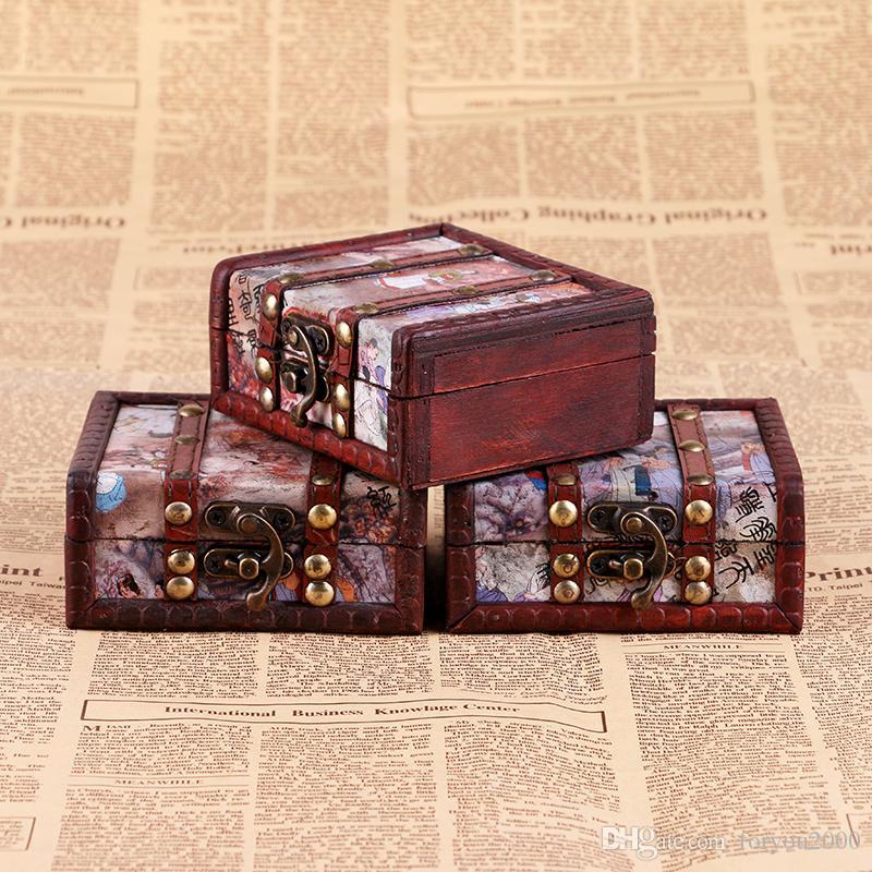 New Arrive Colorful Hand Made Super Wooden Tattoo Machine Gun Box Case High Quality Kits Supply TA224