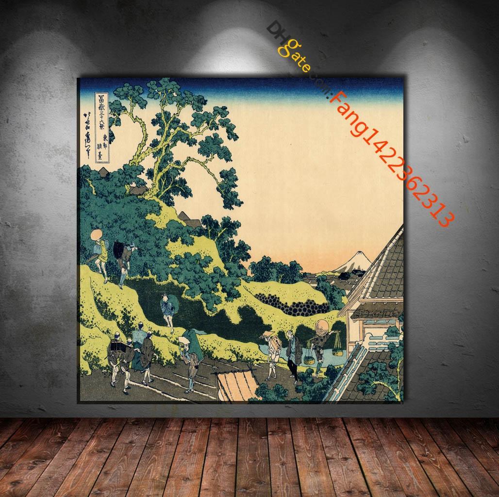 2018 Traditional Japan Download Art Premium Art Print. Hd Canvas ...