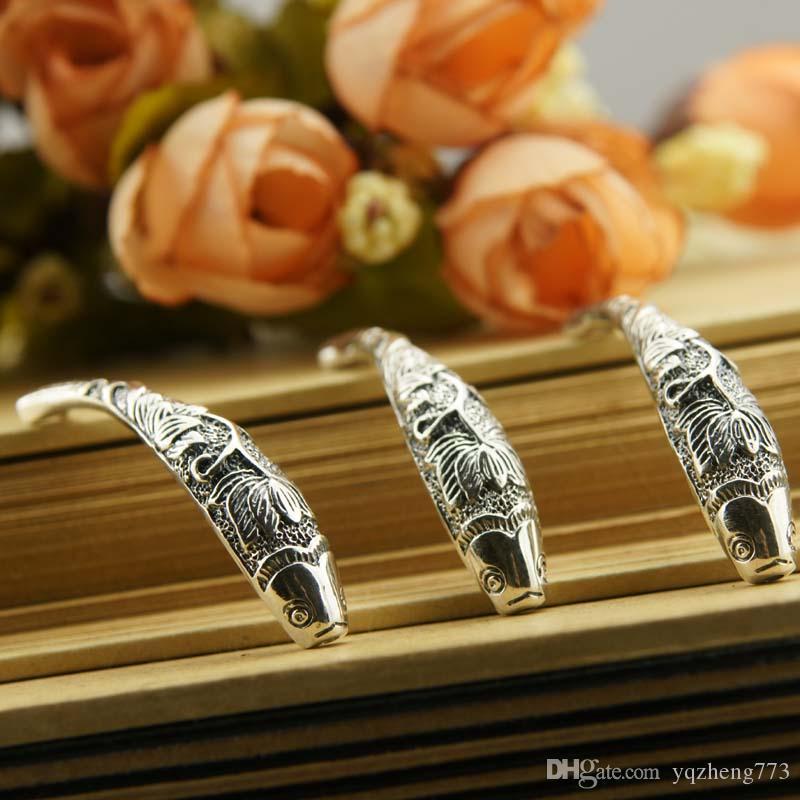Modeschmuck DIY Schmuck 925 Sterling Silber Schmuck Charms Schmuckzubehör 925 Sterling Silber Stecker Halskette Draht PT98