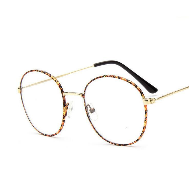 2018 wholesale optical frames fashionable metal frames men vintage round clear lens glasses myopia frame armacao oculos nerd from fashionkiss - Wholesale Glasses Frames