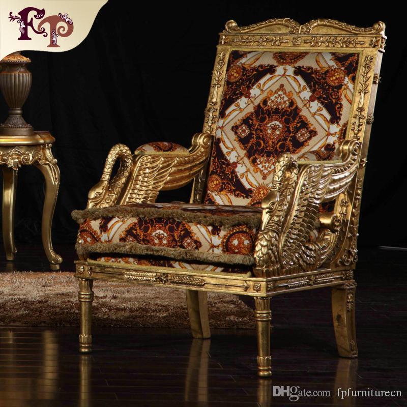 Hervorragend Großhandel Barocke Wohnzimmer Sofa Möbel European Classic One Person Stuhl  Italienischen Luxus Klassischen Sofa Stuhl Von Fpfurniturecn, $1777.89 Auf  De.